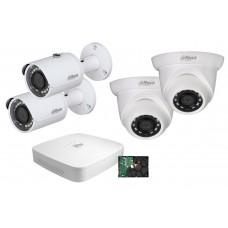 Dahua övervakningspaket PoE