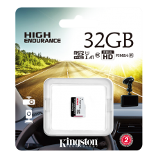 MInneskort 32GB för övervakning